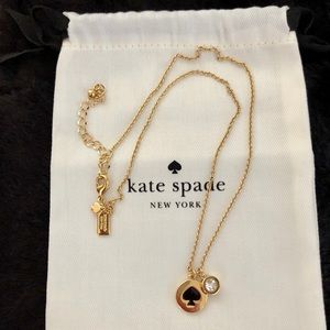 Kate Spade New York Spot The Spade Necklace